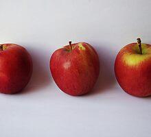 Three Apples by Samantha Sheldon