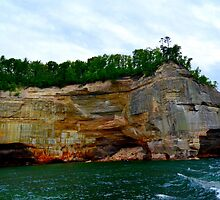 Pictured Rocks 4 by Debbie  Maglothin