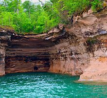Pictured Rocks 1 by Debbie  Maglothin