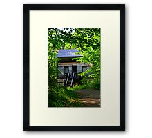 Country Dr.s House Framed Print
