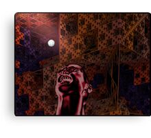 Scissors Kick Canvas Print