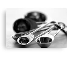 Measuring spoons Canvas Print