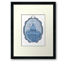 Vatican Cameo Framed Print