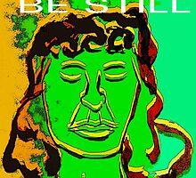 Be Still Meditate Digital by Kater