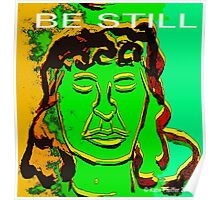 Be Still Meditate Digital Poster
