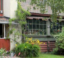 Historic Swedish Home Sticker