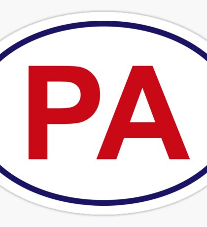 Pennsylvania State Sticker Sticker