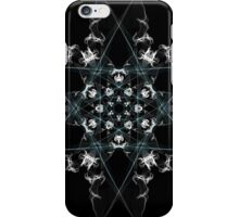 snow star on Black iPhone Case/Skin