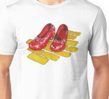 Ruby Slippers Wizard Of Oz Unisex T-Shirt
