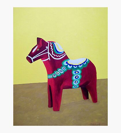 Dala Horse For Marlene Photographic Print
