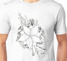 Steampunk Flower Unisex T-Shirt