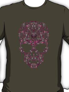 Ca-Skull-Vania (Pink) T-Shirt
