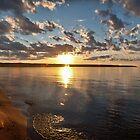 Big Bay Sundown by luc1ddr3am