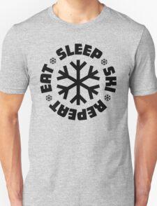 Eat Sleep Ski Repeat T-Shirt