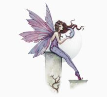 Whispering Moon Fairy Art by Molly Harrison by Molly  Harrison
