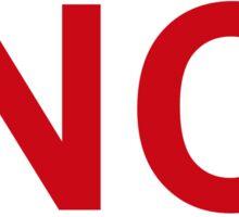 North Carolina State Sticker Sticker