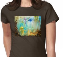 Jellyfish March to The Surface Womens Fitted T-Shirt