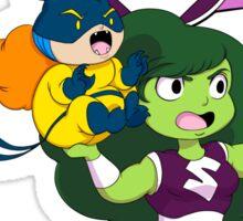 She-Hulk and Hellcat Sticker