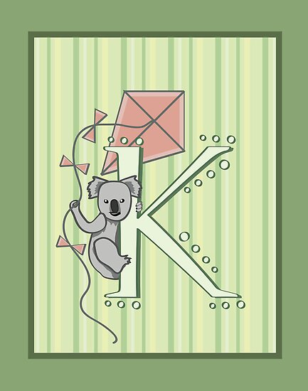K is for Koala and Kite by mogencreative
