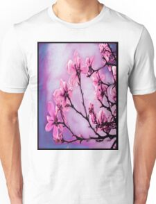 Pretty Pink Flowers Unisex T-Shirt
