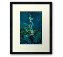 Neptunes Lair Framed Print
