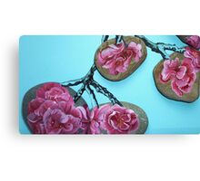 beach blossom  Canvas Print