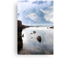 tranquil coastal kerry view Canvas Print