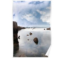 tranquil coastal kerry view Poster