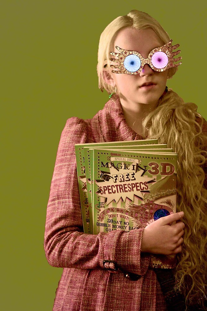Luna Lovegood 2 by siriuslyholly