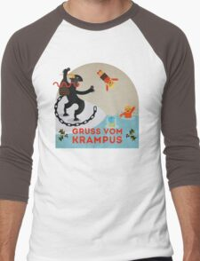 Gruss vom Krampus III Men's Baseball ¾ T-Shirt