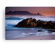 Sunset in Cape Town Canvas Print