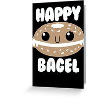Happy Bagel Greeting Card