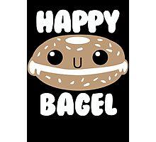 Happy Bagel Photographic Print