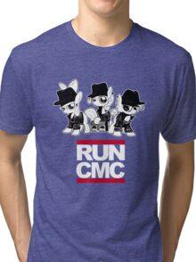 RUN CMC T-shirt (black) Tri-blend T-Shirt