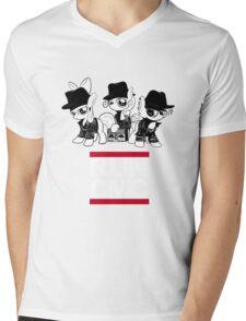 RUN CMC T-shirt (black) Mens V-Neck T-Shirt