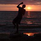 Sunset's Kids - Jovenes De La Puesta Del Sol by Bernhard Matejka