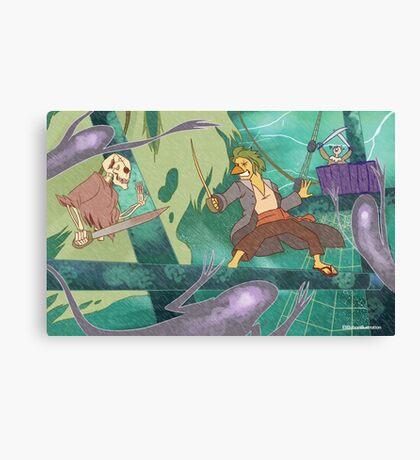 Ghost Pirates Canvas Print
