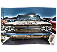 Surreal Corvair Poster
