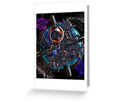 Alien Attack Greeting Card