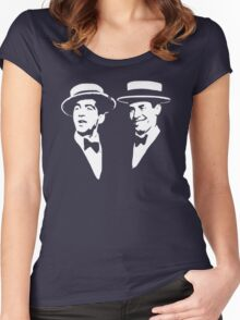 martin and lewis Women's Fitted Scoop T-Shirt