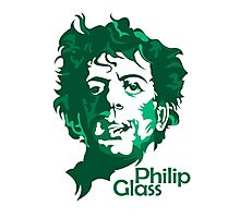 Philip Glass Photographic Print