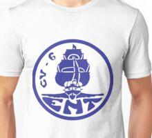 USS Enterprise CV-6 Revised Crest Unisex T-Shirt