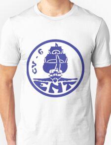 USS Enterprise CV-6 Revised Crest T-Shirt