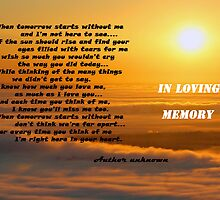 In Loving Memory by Susan Blevins