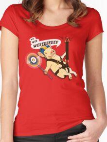 WEEEEE! Women's Fitted Scoop T-Shirt