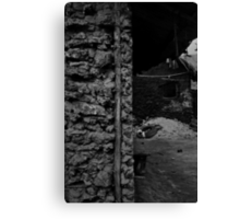 These Four Walls Keep Me Safe At Night Canvas Print