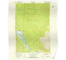USGS Topo Map Washington State WA Oman Ranch 242956 1949 24000 Poster