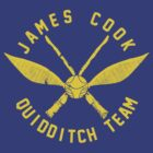 JCU QUIDDITCH TEAM - GOLD by zbickhoff