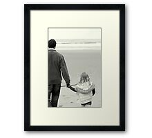 A caring hand Framed Print