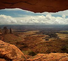 Canyonlands Through Mesa Arch by Peter Hammer